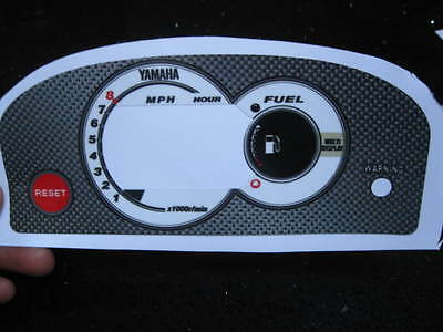 NEW 99-04 Yamaha GPR 800 1200 1300 GP R Gauge Decal Sticker Head Overlay DISPLAY