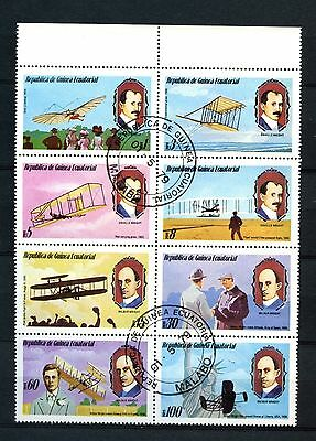 Equatorial Guinea 1979 Aviation, Aircrafts Cto Used Block #A28093