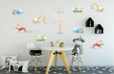 Jungle Animals Village Removable Kids Wall Art Decal Vinyl Stickers Home Decor