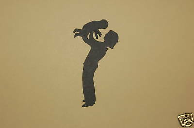 Cricut Mother Lifting Baby Silhouette Cardstock Die Cut/Cuts