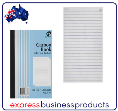 Olympic #604 Plain Carbon Book Duplicate - AO140851