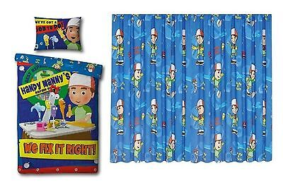 Handy Manny Working Rotary Duvet Set & Handy Manny Working Curtains