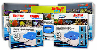 Eheim Filter Foam & Floss Pad Set For Ecco/pro2/pro3 External Fish Tank Media