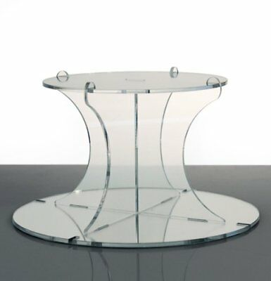 2 Tier Mirrored Acrylic Cup Cake & Party Cupcake Stand