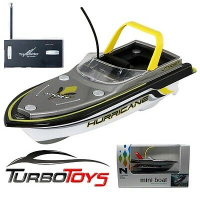 New - Rc Mini Boat - Yellow - Twin Motor - Self Charging -Aus Seller - Aus Stock