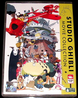 DVD Collection Studio Ghibli Movie 23 Movies 6 disc Box Set