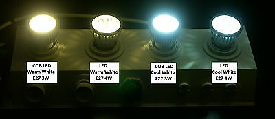 LED COB E27 B22 GU10 3W 4W 5W 6W 7W Warm Yellow Cool White Light Bulb Oz seller