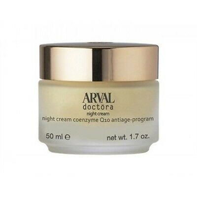 ARVAL DOCTORA Night cream Crema notte coenzima Q10 programma-antietà 50 ml