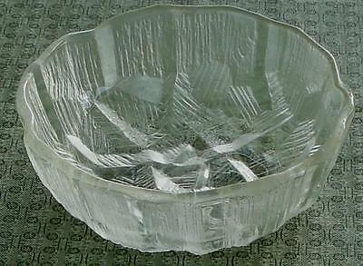 Very Nice Pressed Glass Bowl, Small Size, Vintage, VERY GOOD COND