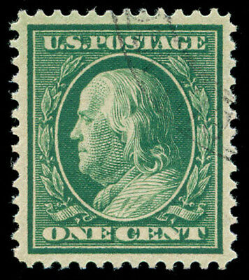 momen: US Stamps #357 Used PSE Graded XF-SUP 95