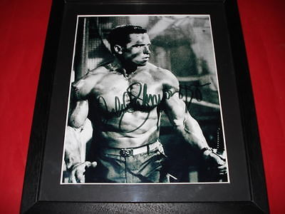 ARNOLD SCHWARZENEGGER Signed Autographed 10X8 FRAMED PHOTO Print arnie