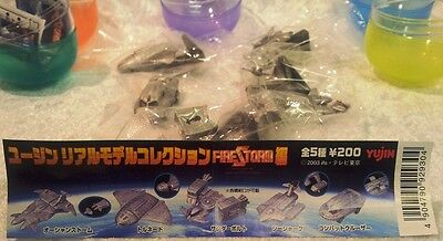 Gerry Anderson : Firestorm Set Of 5 Small Models Made By Yujin