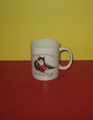 New I'm A Proud Owner Of A Sumo Cat Coffee Cup Mug