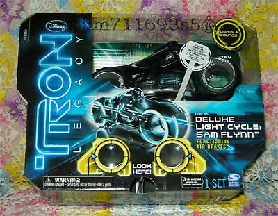 Tron Legacy Sam Flynn Deluxe Light Cycle - NEW!!