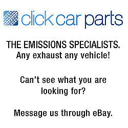 Citroen Xsara Picasso 1.6 2000> Exhaust Rear Back Box Silencer