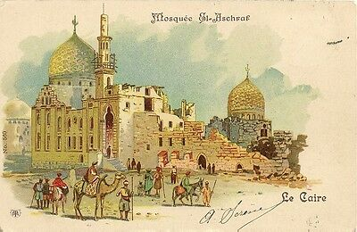 Carte Postale Egypte Le Caire Mosquee El-Aschraf