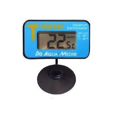 Aqua Medic T-Control Meter Submersible Thermometer Fish Tank Aquarium Heater