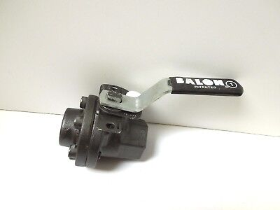 "Balon Ball Valve  1F F03Se 1"" Npt 3000 Psi Full Port Carbon Steel     <049Wh"