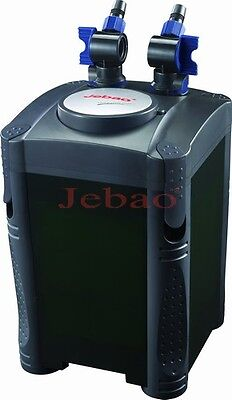Jebao External Aquarium Fish Tank Canister Filter System INC MEDIA