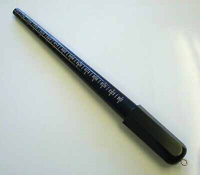 Ring size mandrel ring stick jewelers tools to check ring sizes re-round rings