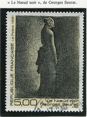 Stamp / Timbre France Oblitere N° 2693 Tableau Georges Seurat