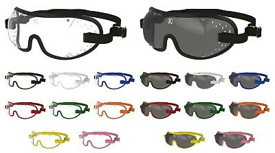 NEW- KROOPS Skydiving Freefall Parachute Goggles | Punch Vent |Clear+Tinted Lens