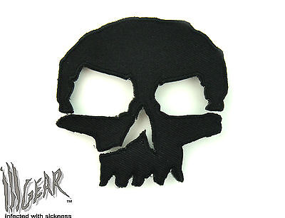 ill Gear MONSTER Tactical Black Skull Velcro Patch Apocalypse Survival Zombie