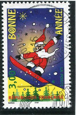 Stamp / Timbre France Oblitere N° 3200  Pere Noel