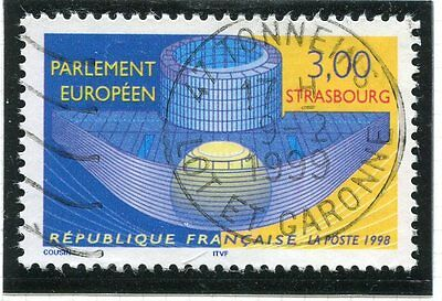 Timbre France Oblitere N° 3206 Parlement Europeen /