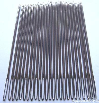 25 x Nickel Plated Tapestry Needles Size 18 Hand Sewing