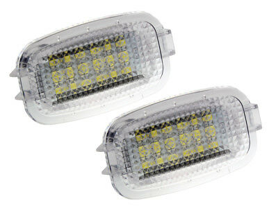 LETRONIX 18 SMD LED Module Innenraumbeleuchtung 6000K P&P Mercedes und SMART