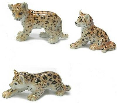 R284 - Northern Rose Miniature  Leopard Cubs - Set of 3