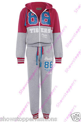 Age 1 2 3 4 5 6 GIRLS TRACKSUIT Girls Hoodie POCKET SUIT CLOTHING Joggers NEW