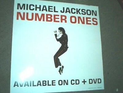 MICHAEL JACKSON RARE Australian PROMO ONLY POSTER Number Ones