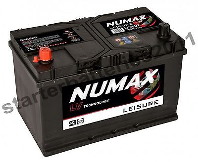 12V 100AH Numax LV26MF Heavy Duty Deep Cycle Leisure Marine Battery 2 year Wrnty