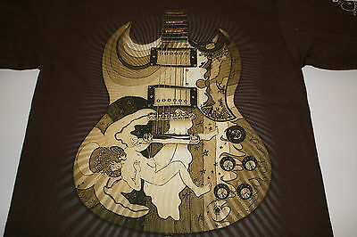 Eric Clapton Concert T-Shirt 2010 North American Tour ( New )