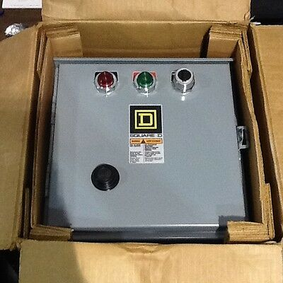 Square D 8536-SBA2-CF4P1P2TX11 Combination Starter