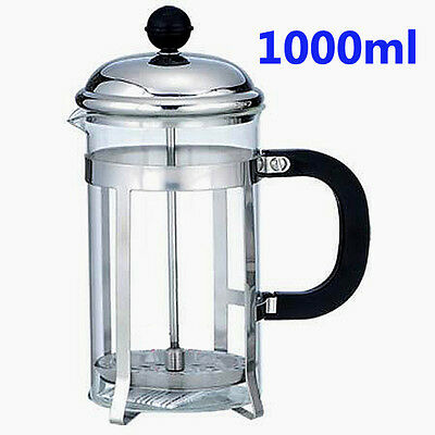 1000ml Coffee Plunger / Tea Maker / French Press