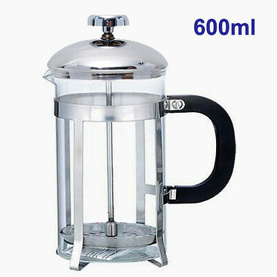 600ml Coffee Plunger / Tea Maker / French Press