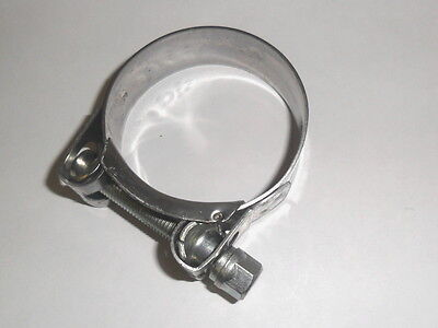 STAINLESS EXHAUST CLAMP 47mm  46mm 45mm  44mm 43mm for Pipes and Silencers