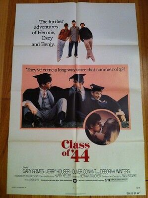 CLASS OF '44 Vintage Poster 1973 One Sheet 1SH Gary Grimes, Jerry Houser