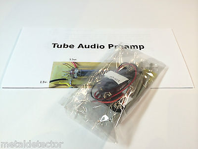 Valve Vacuum Tube Audio Preamp Kit, Bass/Electric/Acoustic Guitar