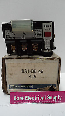 New Telemecanique Overload Relay Ra1-Bb 46 4-6 Ra1Bb46 Ra1-Bb-46
