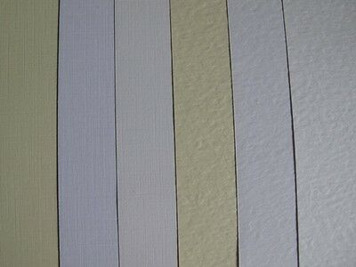 20 x A4 Zeta Textured Card 260gsm Hammer or Linen in White, Ivory or Brill White