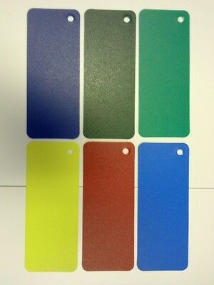5 Sheets A4 Viprint Coloured Plastic 0.80mm (Various Colours)