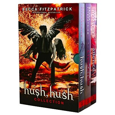 Hush Hush 3 Books Young Adult Collection Paperback By Becca Fitzpatrick