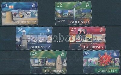 Great Britain - Guernsey stamp Europa CEPT Holiday set 2004 MNH WS112848