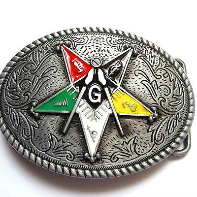 OES Patron Belt Buckle