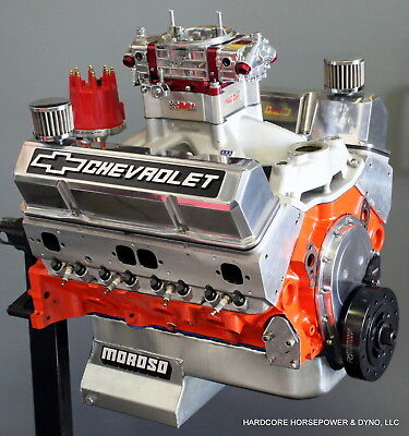 434ci Small Block Chevy Complete Engine 800hp+ 18° Pro Race Gas Built-To-Order