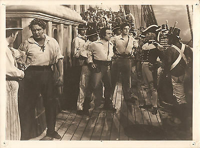 "VICTOR MATURE, LEO CARRILLO & LLOYD CORRIGAN in ""Captain Caution"" Original 1940"
